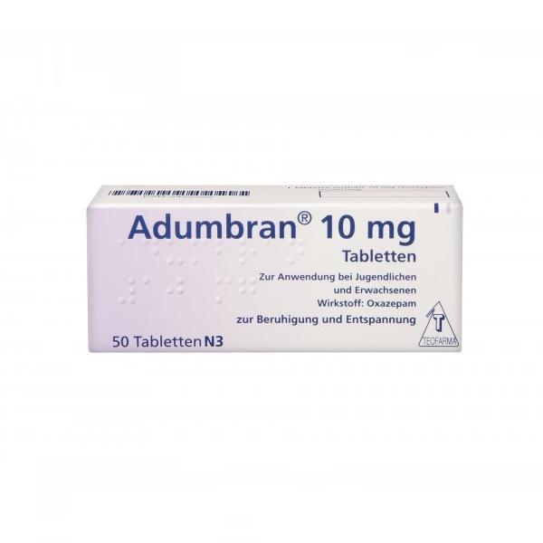 Adumbran 10 mg