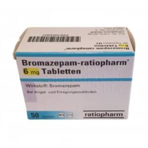 Bromazepam Ratiopharm 6 mg 50 Tabletten